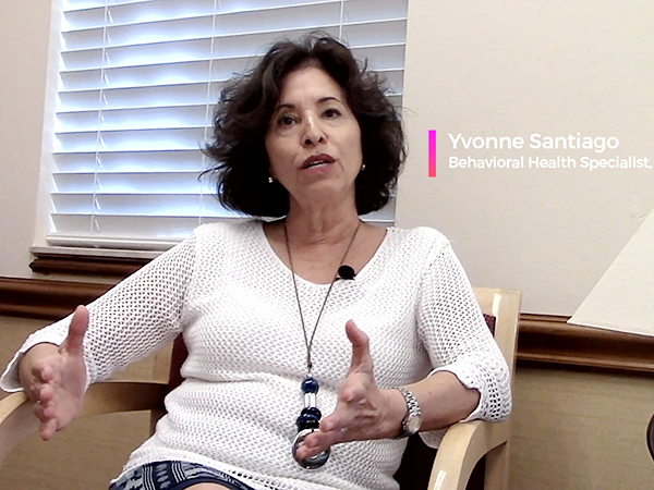 Yvonne Santiago is MyClinics Behaviroal Health Provider